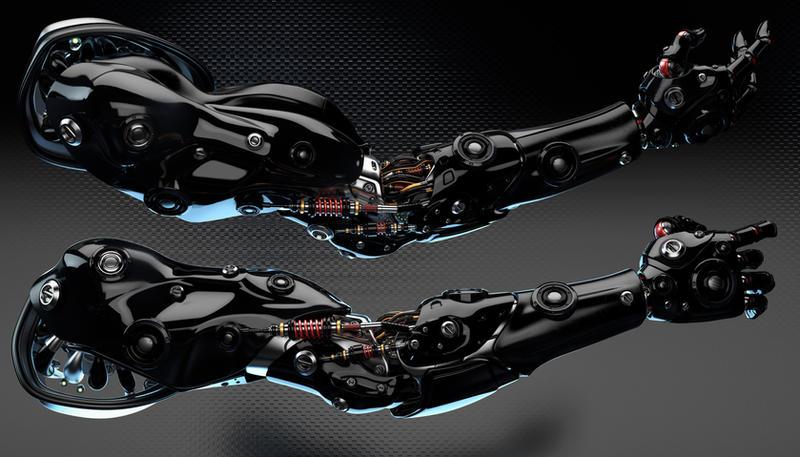 Robotic arms by Ociacia