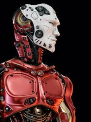 Robotic upper body by Ociacia