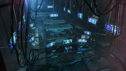 Future is near - testing lab by Ociacia