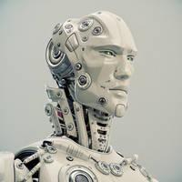 Unique robotic character by Ociacia