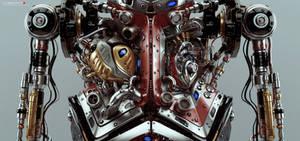 Artificial robotic internal organs by Ociacia