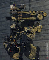Military dron by Ociacia