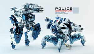 Police urban dron units