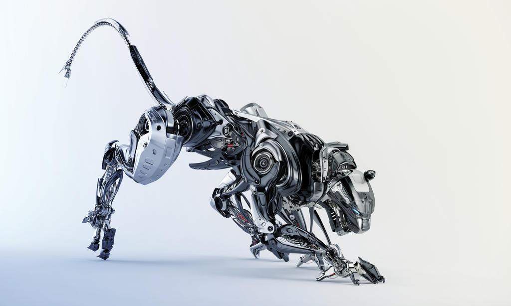 Deviantart Robot Animals: Steel Robotic Jaguar By Ociacia On DeviantArt