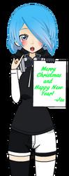 Happy New year/Merry Christmas! by zZJinxZz