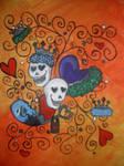 Skulls and Swirls