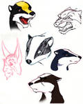 Badgers of Salamandastron