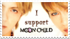 I support Moon Child stamp