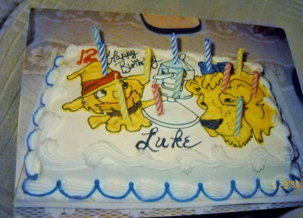 My 12 Year Old Wizard Of Oz Birthday Cake By Thewizardofozzy On