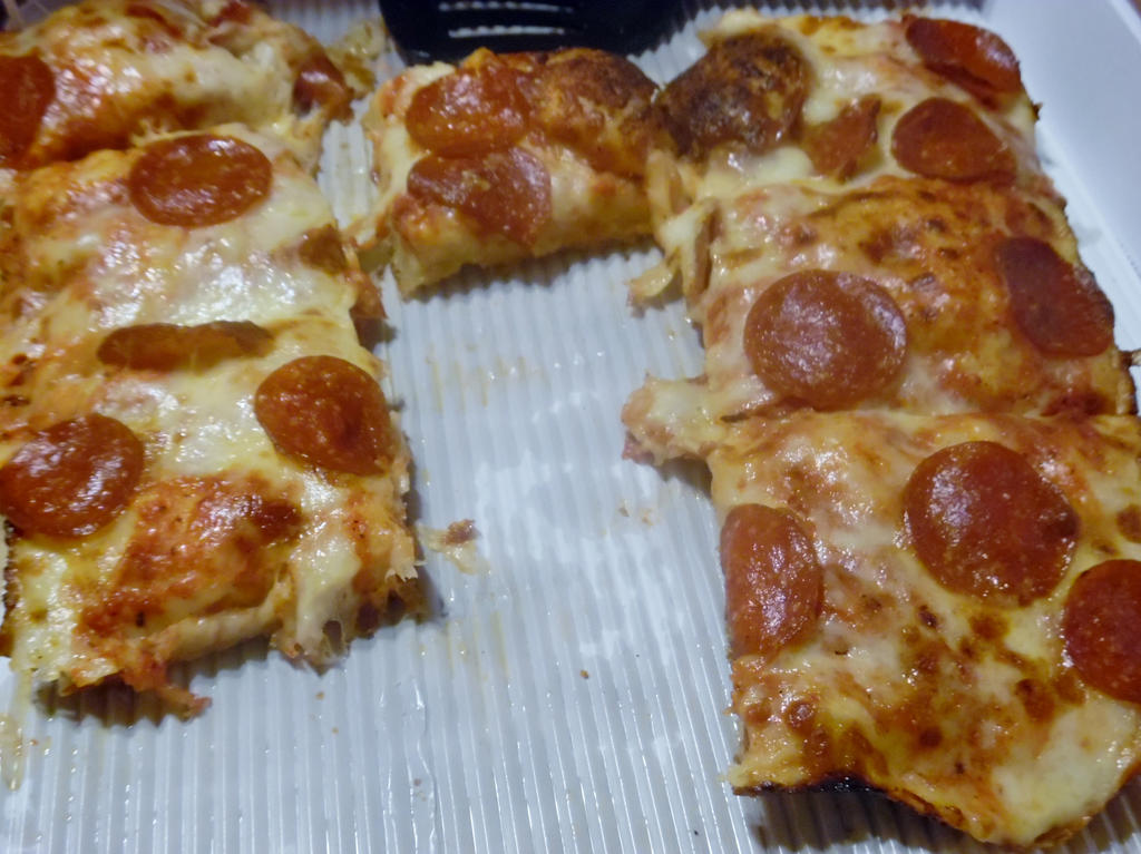 Pizza Slices by TheWizardofOzzy