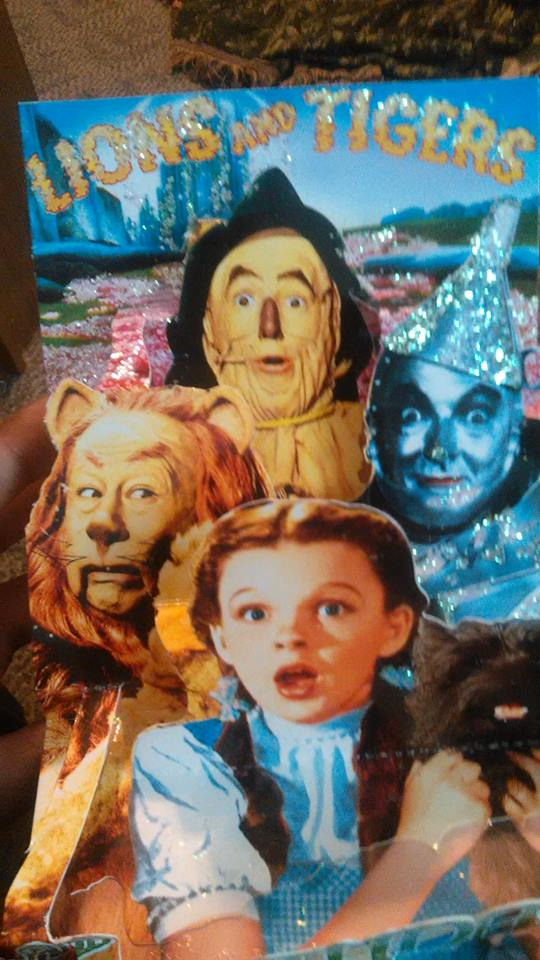 my wizard of oz birthday card by thewizardofozzy on deviantart, Birthday card