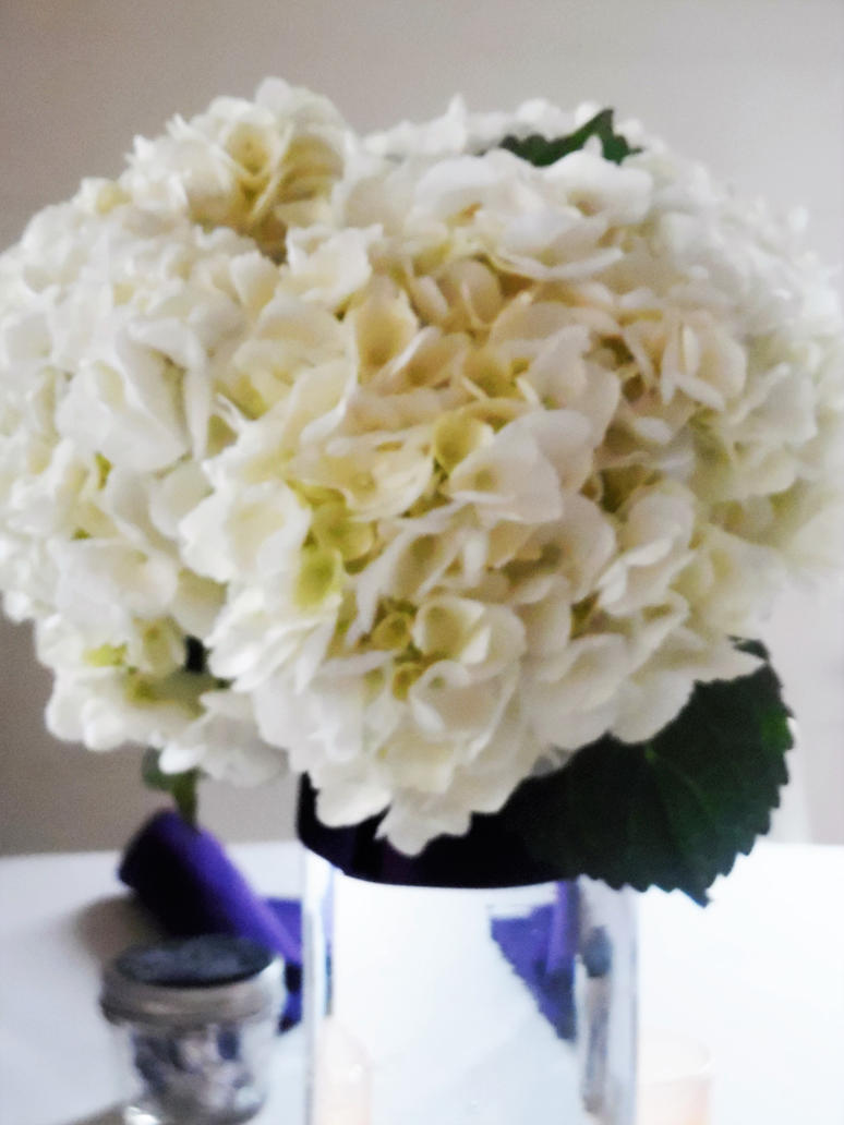 Wedding Flowers Center Piece by TheWizardofOzzy