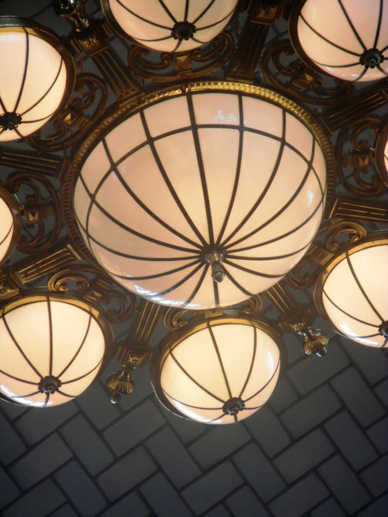 Lights of Ellis Island by TheWizardofOzzy