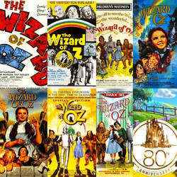 Many Posters of The Wizard of Oz