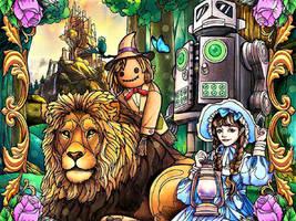 Wizard of Oz Puzzle Board