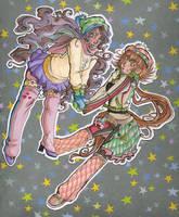 Happy Holidays Teruko and Maeve! by MistressLegato