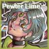 Pewter Lime badge by MistressLegato