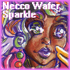 Necco Wafer Sparkle badge by MistressLegato