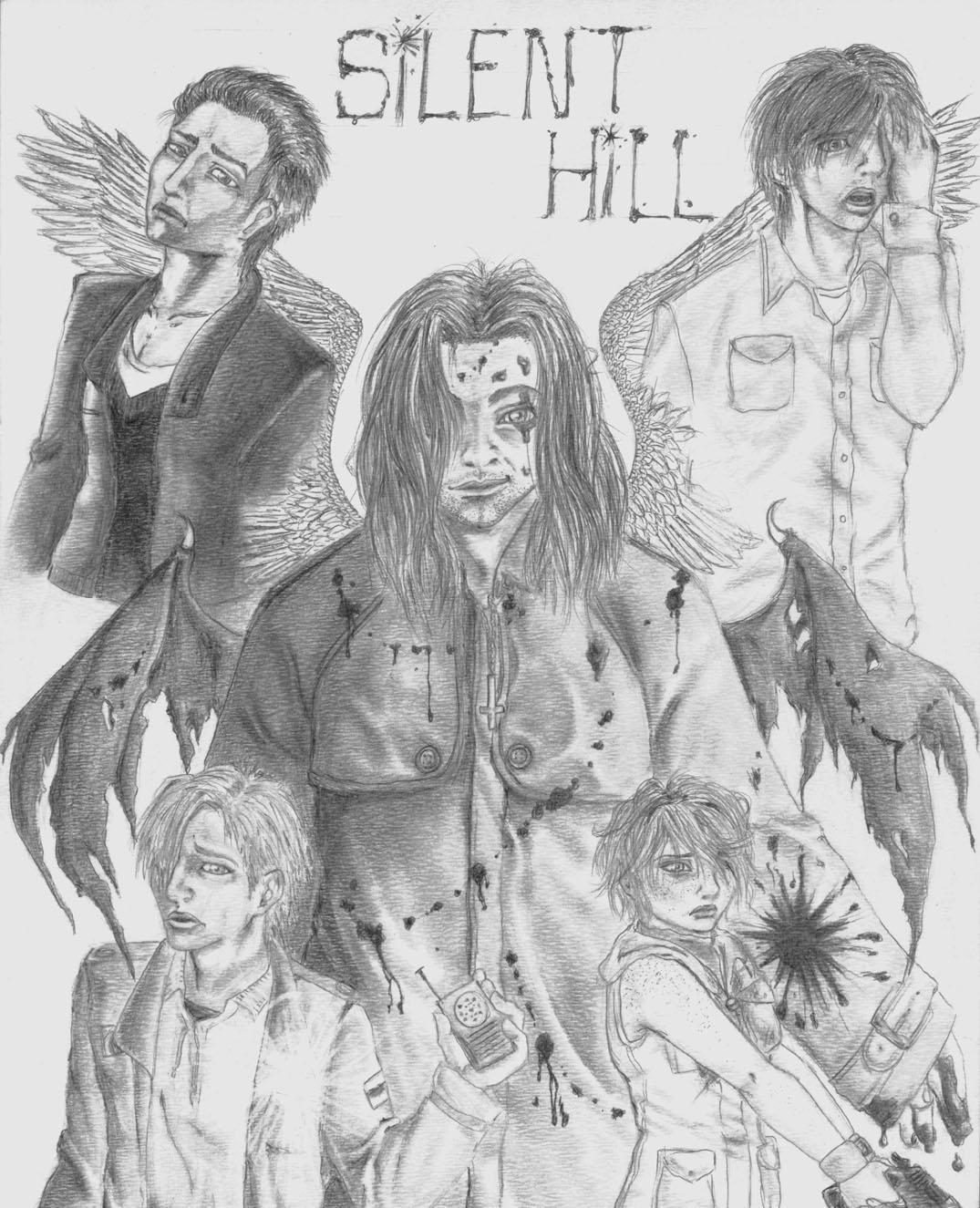Silent Hill Poster by MistressLegato