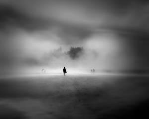 man in the fog...