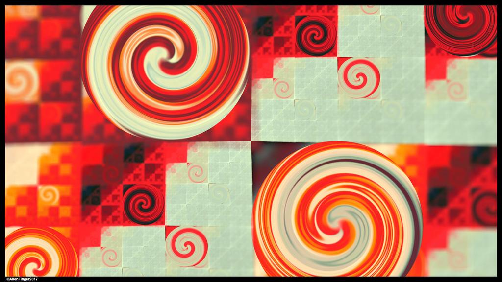 Candy Swirls by allenfingerart