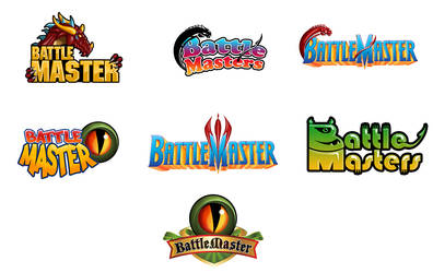 Game Logo Options by NatashaRazi