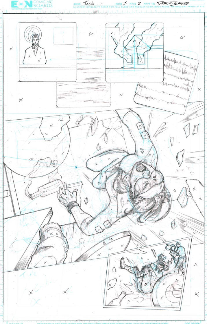 Tesla Issue 1 Page 2 by DRMoore