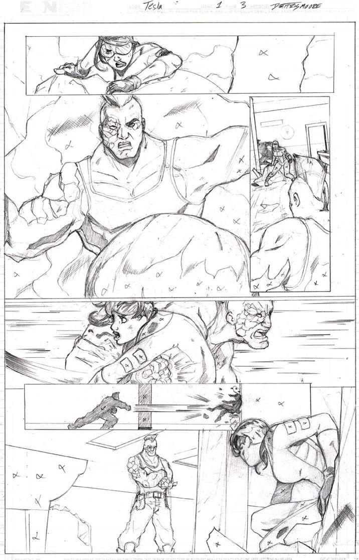 Tesla Issue 1 Page 3 by DRMoore