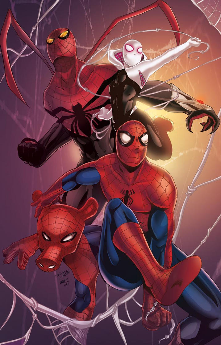 Spider Verse by DRMoore