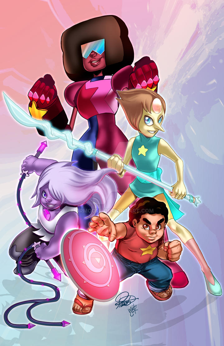 We Are The Crystal Gems COLORS by DRMoore