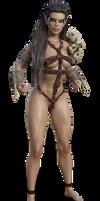 Barbarian elf by Daemonideus