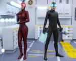 Smart suit by Daemonideus