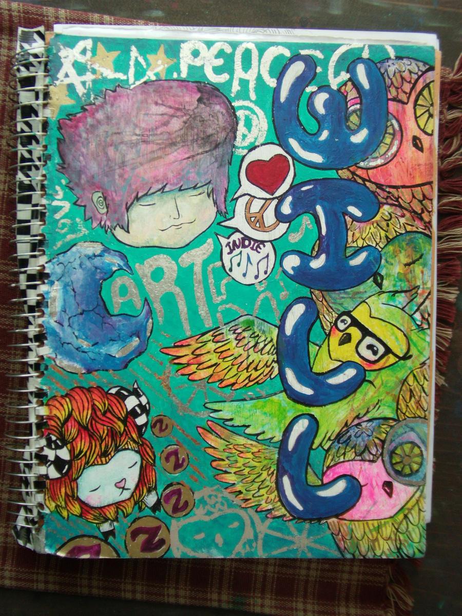 Sketch Book Cover : Sketchbook cover by sooperwillytron on deviantart