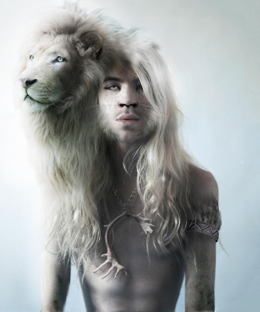 lion hearted. by greenbluepurple