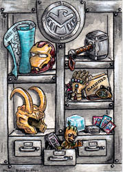 Agents of Shield Cabinet ATC by emmadreamstar