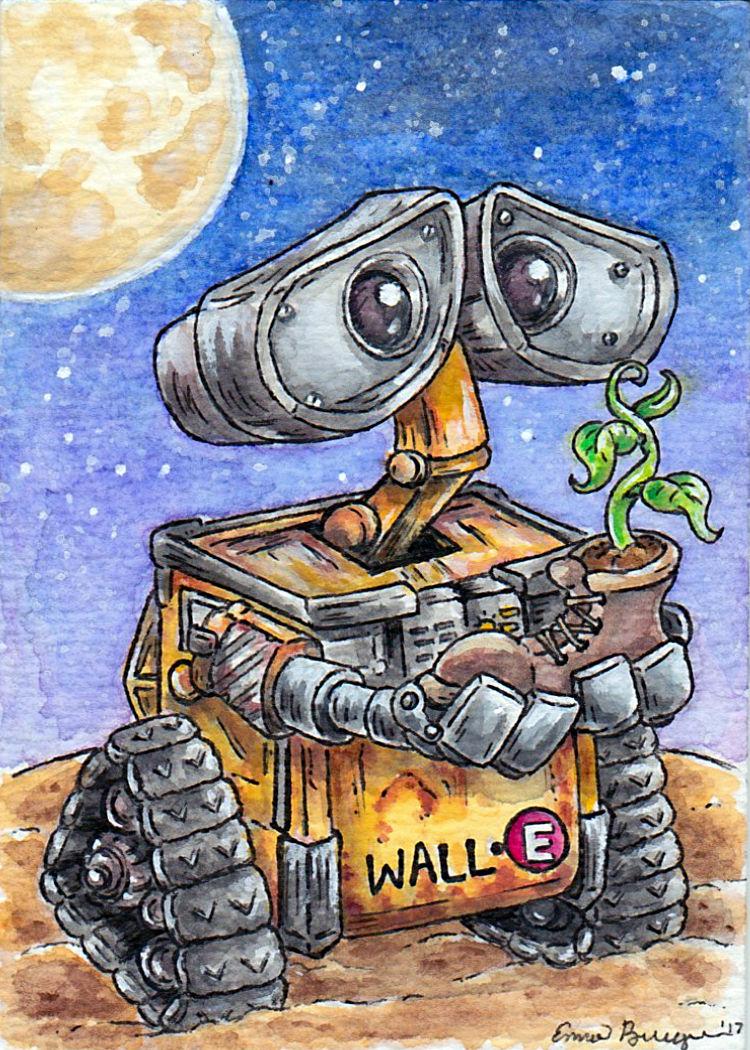 Wall-E by emmadreamstar