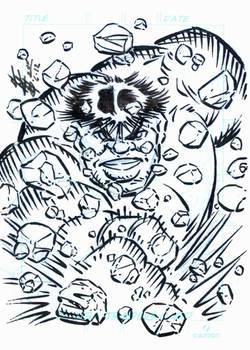 HULK Sketch card 001