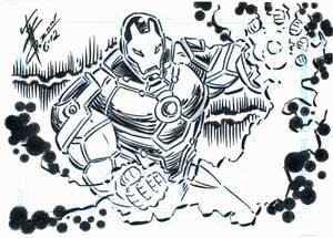 Ironman Sketch card 001