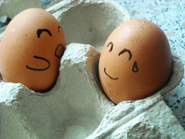 Happy eggs by JinJen