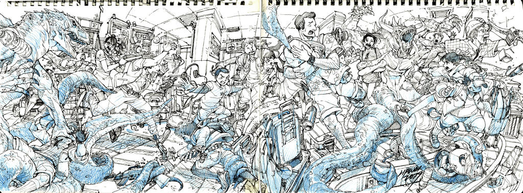 Random Sketch# 05