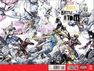 Comic Art Commission: X-men Battle of Atom