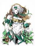 Comic Art Commission: Savage Land Rogue