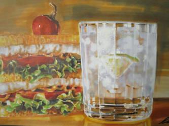 limau ais n burger by claw0208
