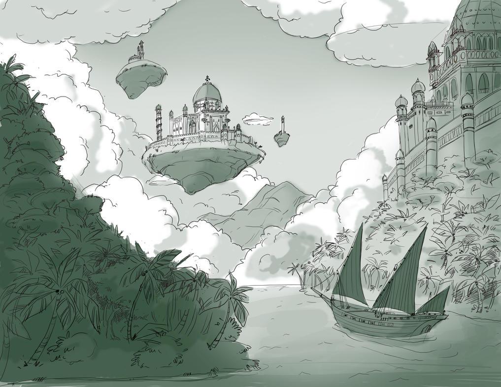 Castle by Stasya-Sher