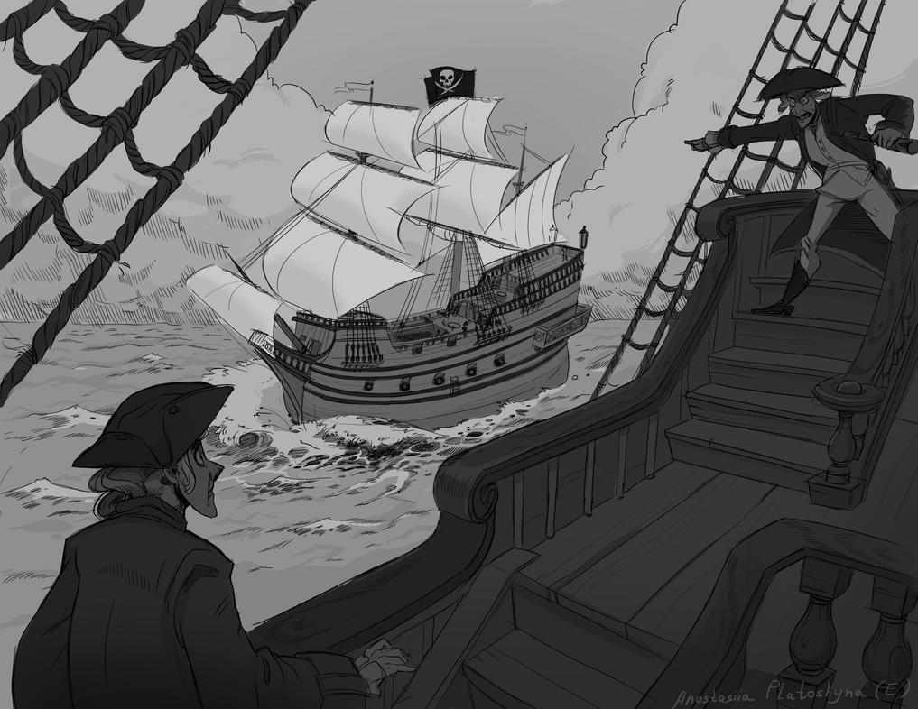 Galleon by Stasya-Sher
