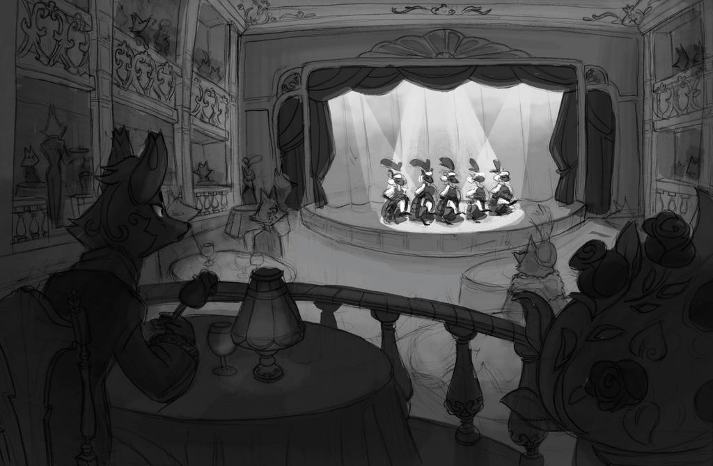 Cabaret by Stasya-Sher