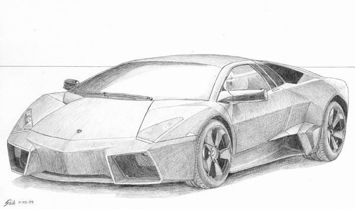 Lamborghini Reventon By Skitsmix On Deviantart