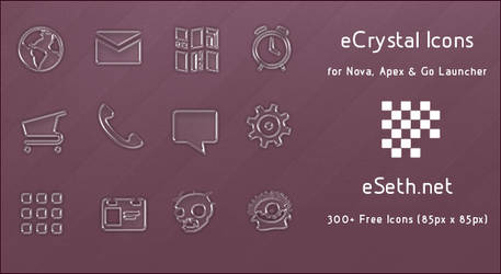 eCrystal Android Icons by gseth