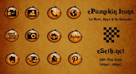 ePumpkin Icon Pack for Android by gseth