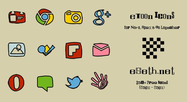 eToon Icon Pack by eSeth.net by gseth